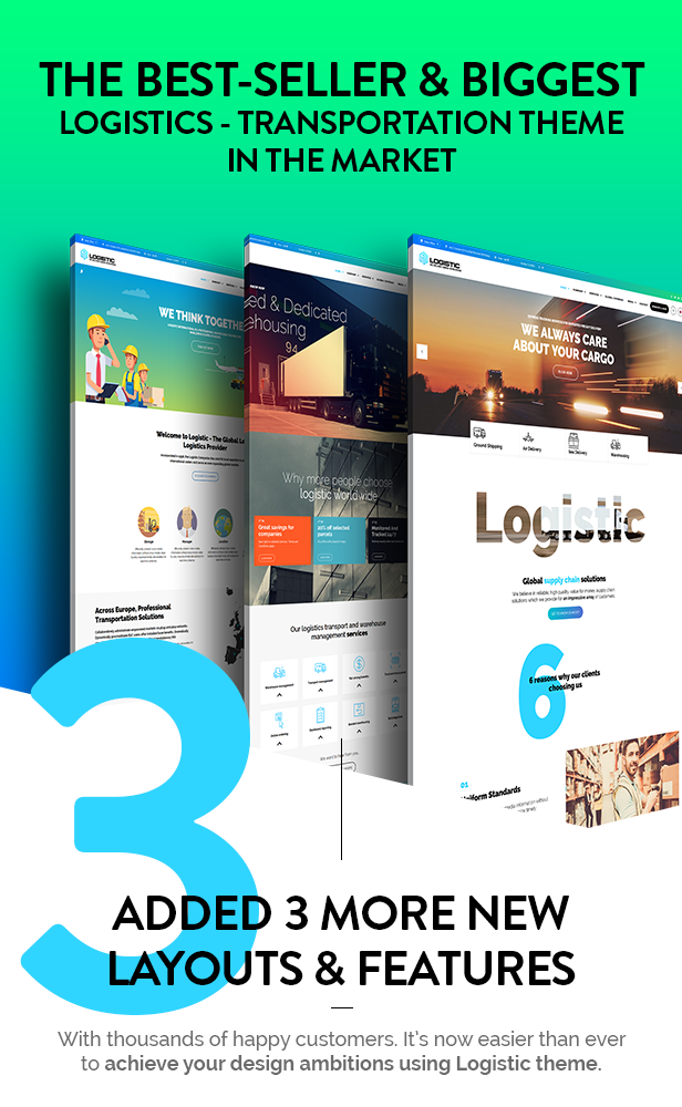 Logistic - WP Theme For Transportation Business - 2